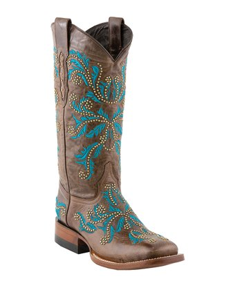 Pine Norwood Cowboy Boot - Women