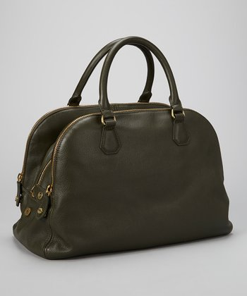 Green Ada Satchel