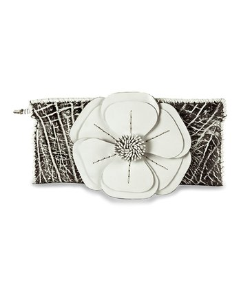 Black & White Natalie Clutch