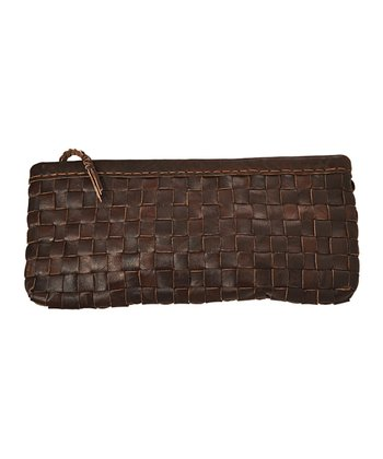 Brown Jennifer Clutch