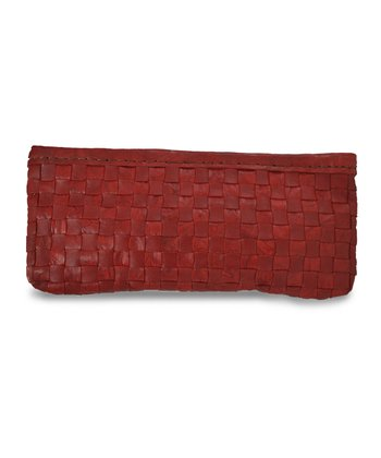 Red Jennifer Clutch