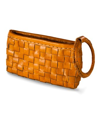 Honey Yellow Mina Wristlet