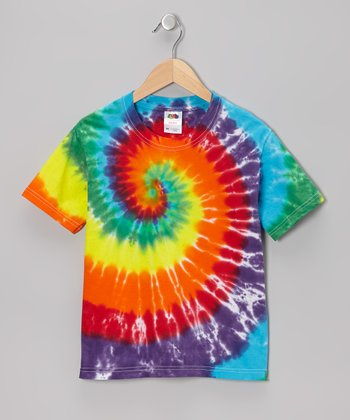 Rainbow Tie-Dye Tee - Toddler & Kids