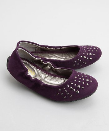 Me Too Shoes - Purple Chestnut Ballet Flat