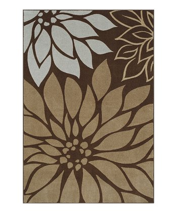 Chocolate Bloom Cicero Rug