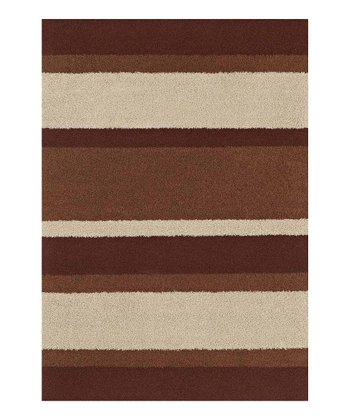 Paprika Stripe Pinnacle Rug