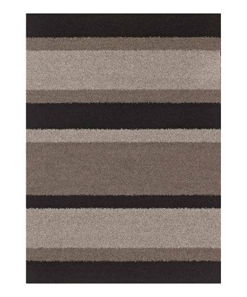 Black Stripe Pinnacle Rug