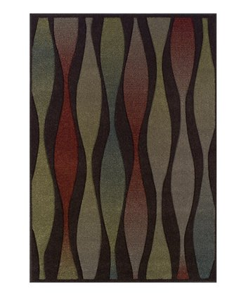 Chocolate Wave Radiance Rug