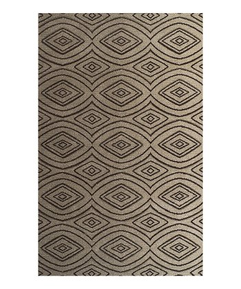 Putty Diamond Radiance Rug