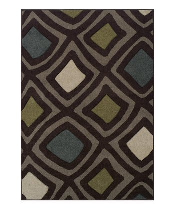 Chocolate Surreal Radiance Rug