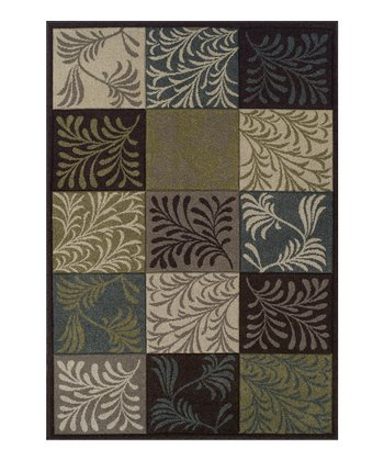 Chocolate Fern Radiance Rug