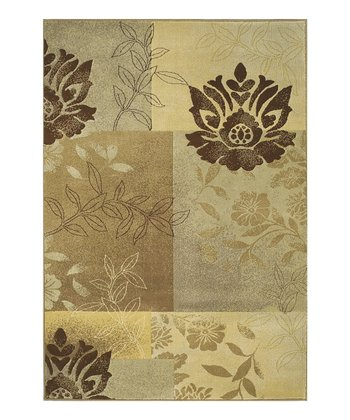 Spa Botanical Block Carlisle Rug