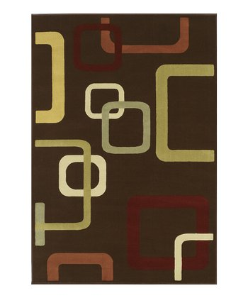 Chocolate Square Carlisle Rug