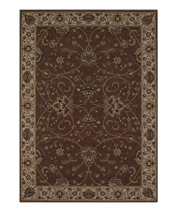 Chocolate Border Imperial Rug