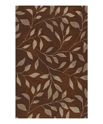 Chocolate Leaf Studio Rug