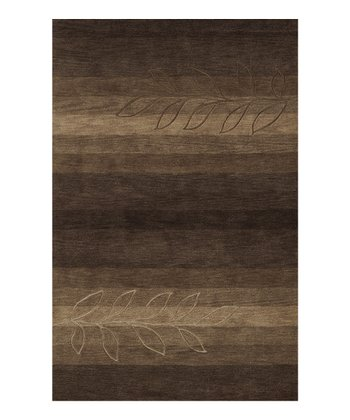 Tobacco Stripe Studio Rug