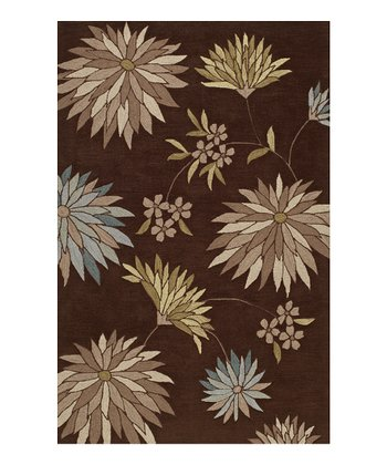 Fudge Spike Flowers Studio Rug