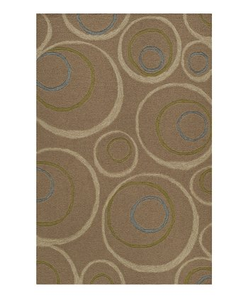 Taupe Inner Circle Sanibel Rug