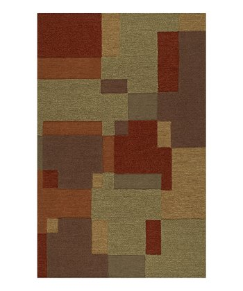 Interlocking Rectangles Sanibel Rug