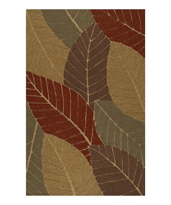 Autumn Leaves Sanibel Rug