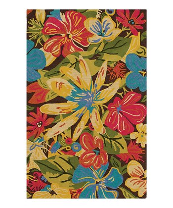 Fudge Floral Profusion Serendipity Wool Rug