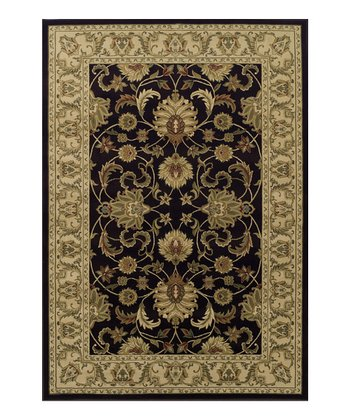 Chocolate Wide-Border Wembley Rug