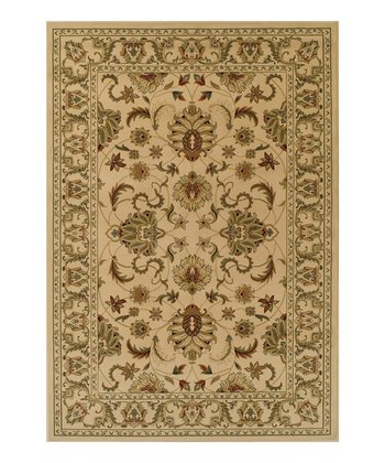 Ivory Wide-Border Wembley Rug