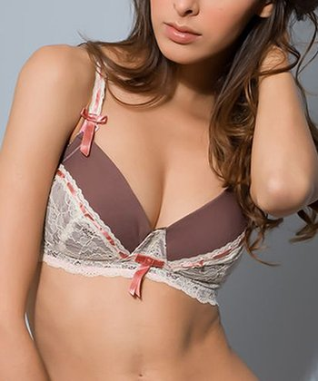 Chocolate Soutien Gorge Wireless Nursing Bra