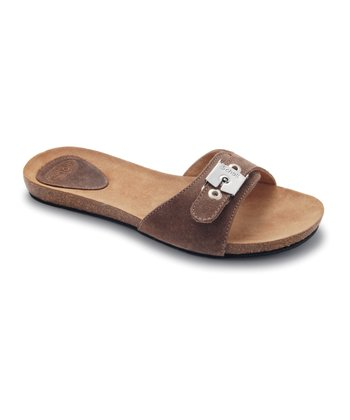 Dark Taupe New Bahama Slide