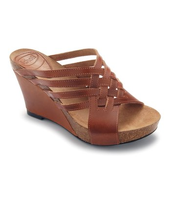 Brown Ajede Wedge