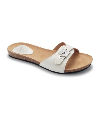 White Patent New Bahama Slide
