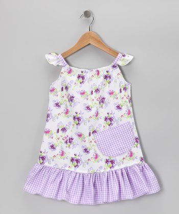 Lavender Daisies Sundress - Infant, Toddler & Girls
