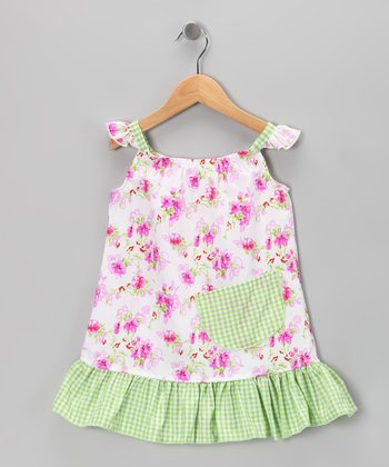 Pink Daisies Sundress - Infant, Toddler & Girls