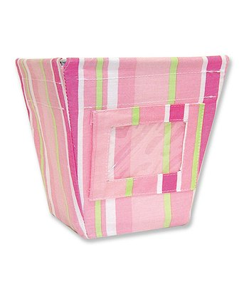 Paisley Park Stripe Small Fabric Storage Bin