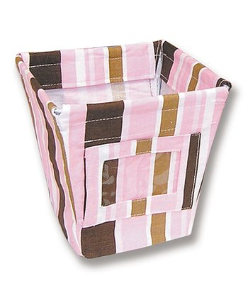 Maya Stripe Small Fabric Storage Bin