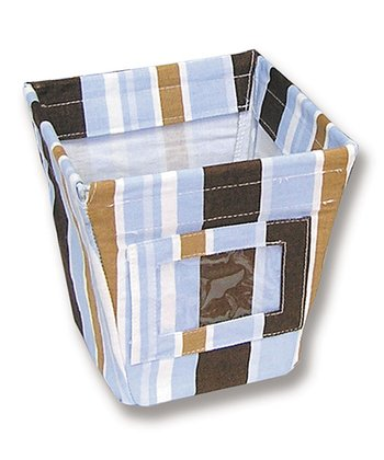 Max Stripe Small Fabric Storage Bin