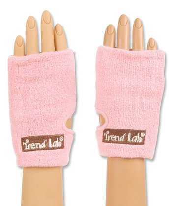 Pink Cleansing Mitt - Set of Two