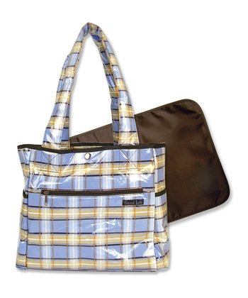 Blue Rockstar Diaper Bag