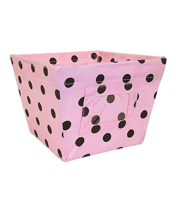 Maya Dot Gift-Size Fabric Storage Bin