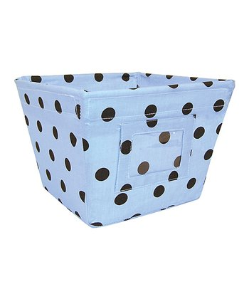 Max Dot Gift-Size Fabric Storage Bin