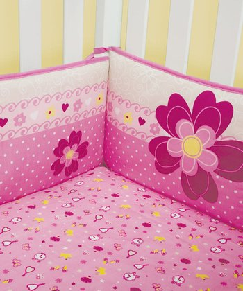 Pink Storybook Princess Bumper Set