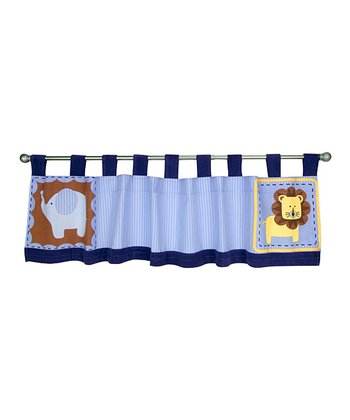 Blue Jungle 123 Valance