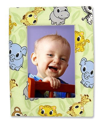 Chibi Zoo Fabric-Covered Frame