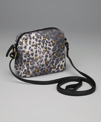 Black Cheetah Crossbody Bag