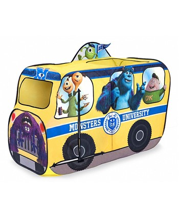 Monsters University School Bus Tent