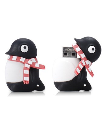 Penguin 8 GB USB Drive & Changeable Cover