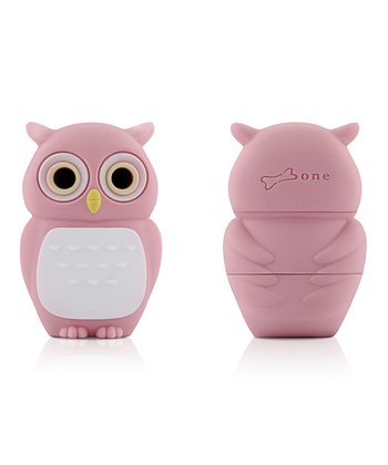 Pink Owl 8 GB USB Drive & Changeable Cover