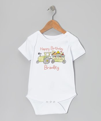 White Loads of Wishes Personalized Bodysuit - Infant
