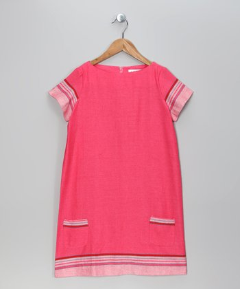Pink Maya Shift Dress - Toddler & Girls