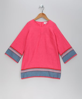 Pink Parker Angelic Tunic - Toddler & Girls